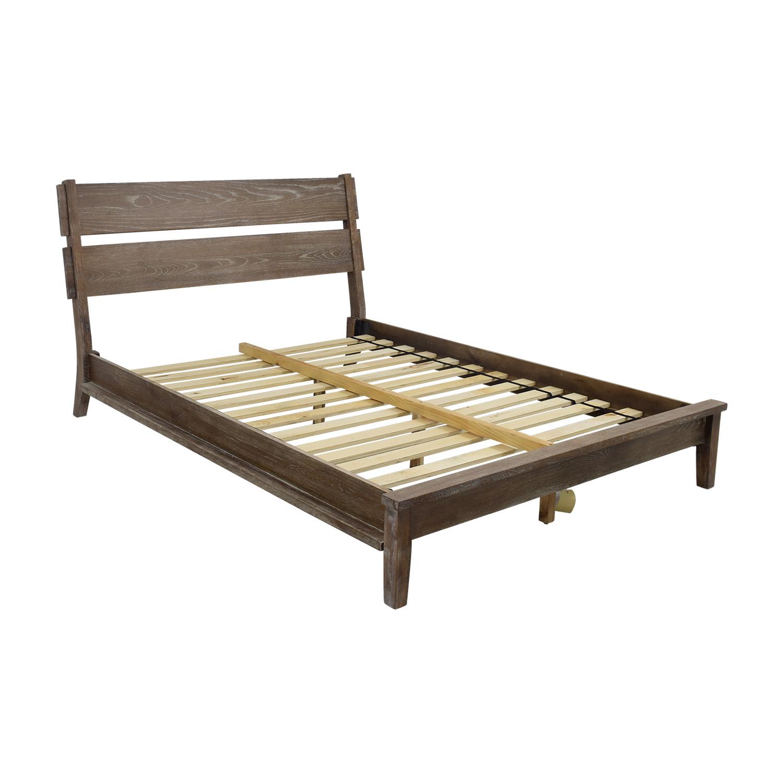 30 off ink ivy ink ivy oaktown rustic queen platform bed frame beds. Black Bedroom Furniture Sets. Home Design Ideas