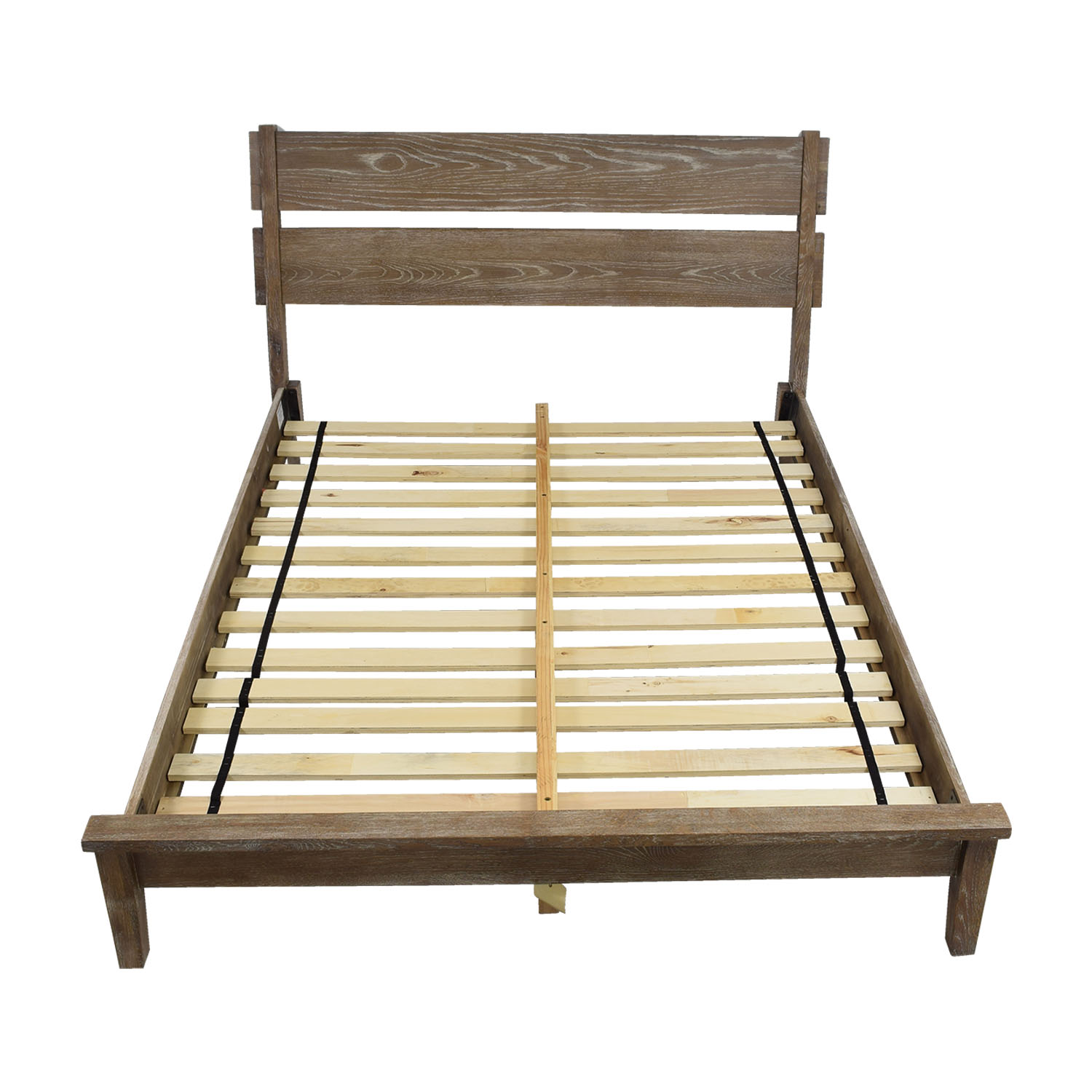 Ink + Ivy Oaktown Rustic Queen Platform Bed Frame / Sofas