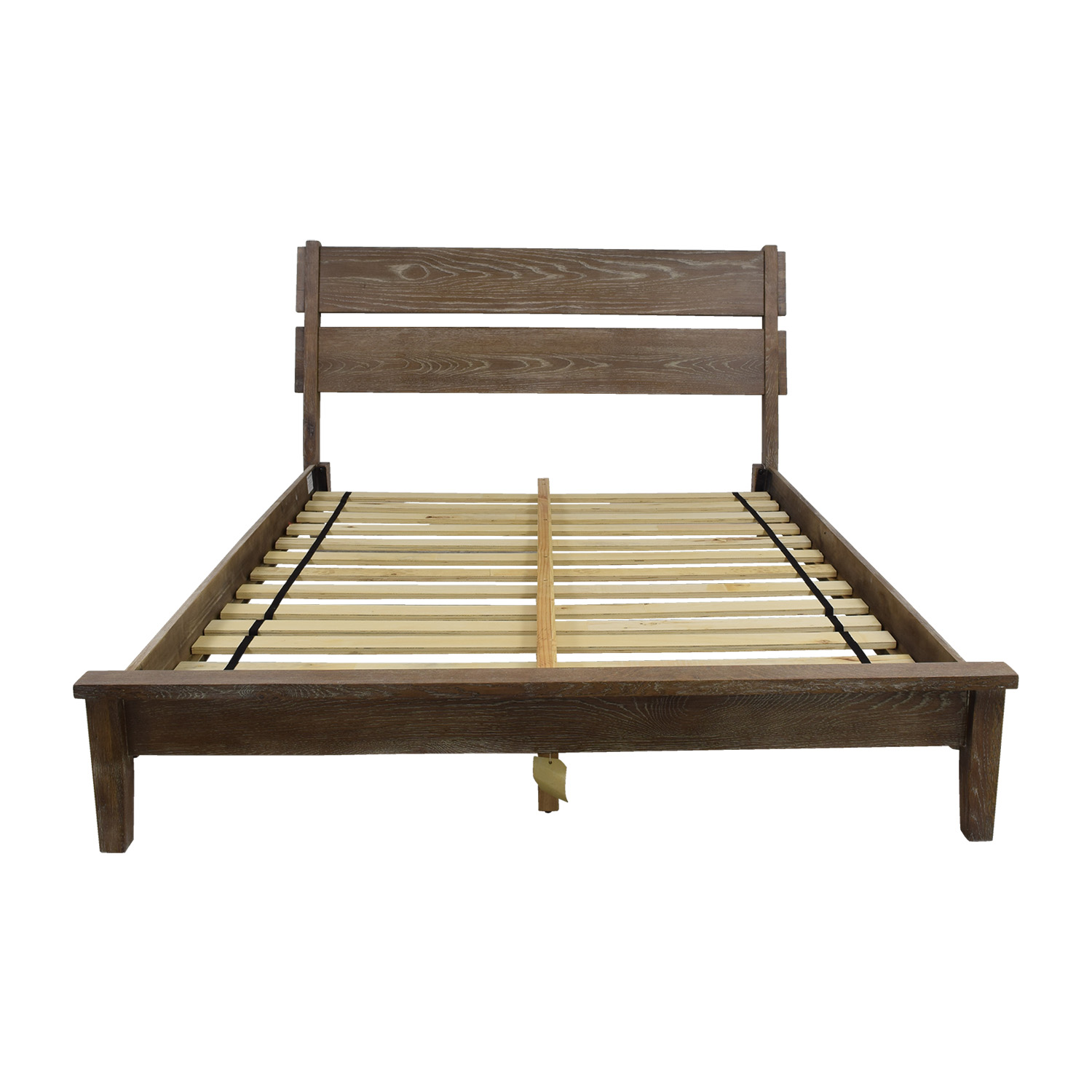 Ink + Ivy Oaktown Rustic Queen Platform Bed Frame Ink + Ivy