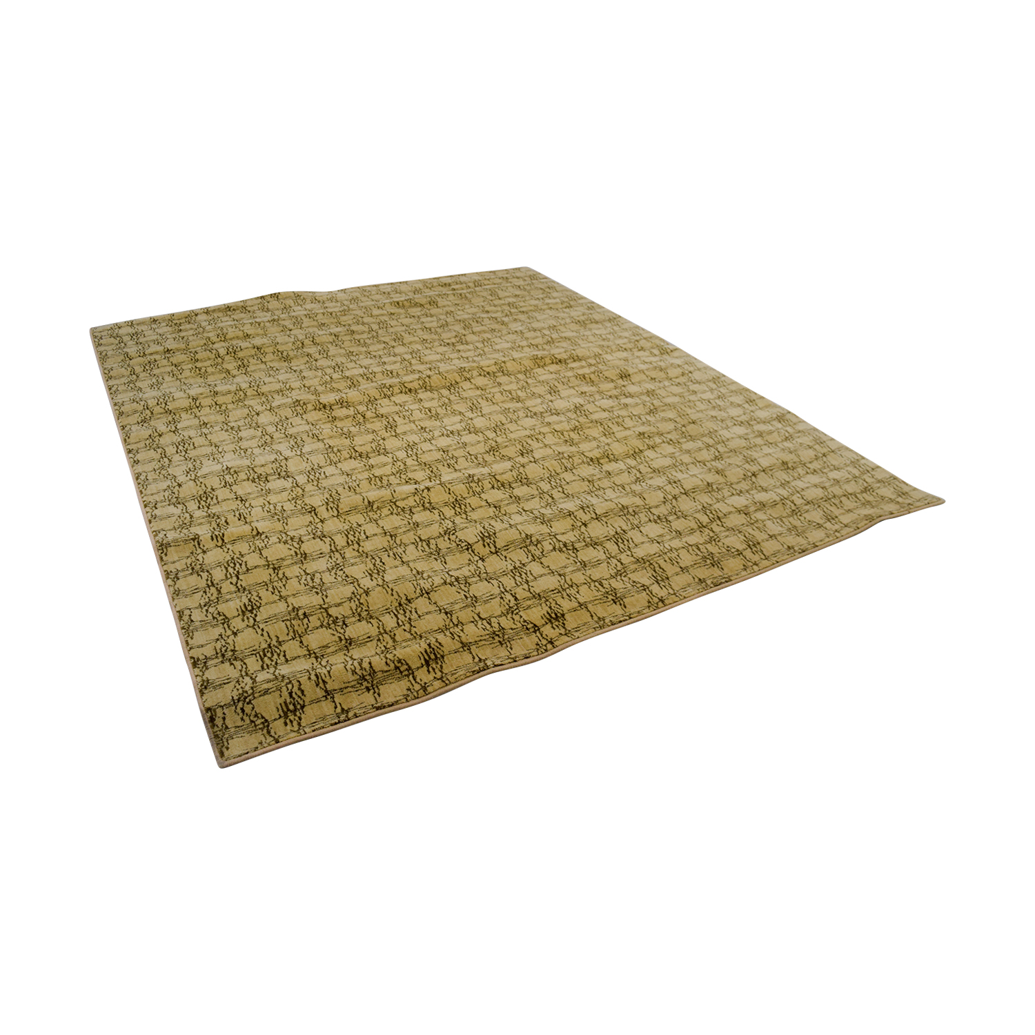 shop Ethan Allen Tan Abstract Rug Ethan Allen Rugs