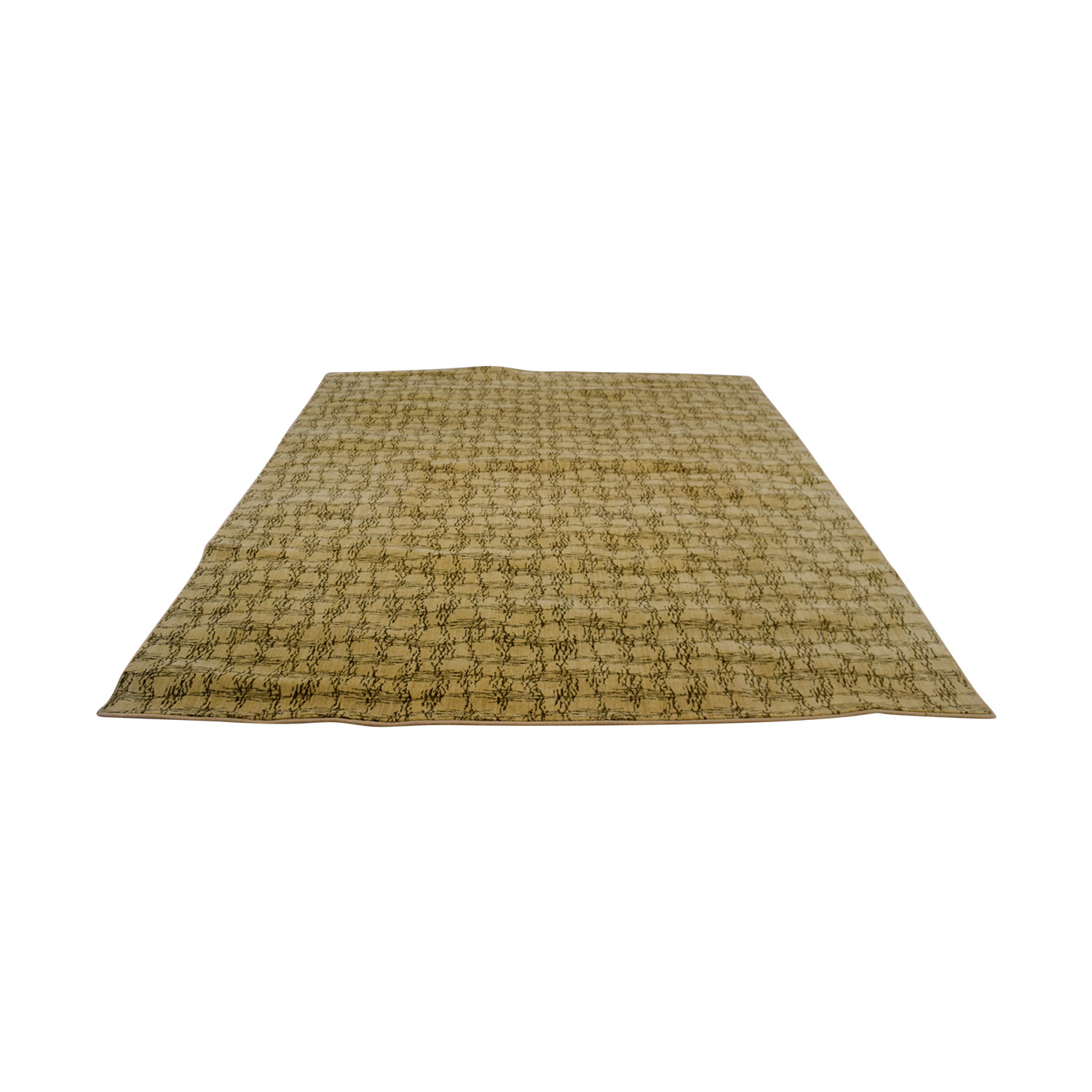 Ethan Allen Ethan Allen Tan Abstract Rug dimensions