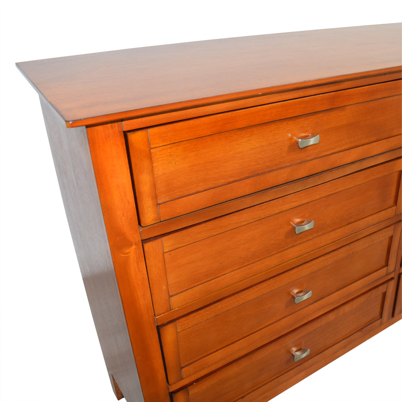 ... Bobu0027s Furniture Bobu0027s Furniture Eight Drawer Dresser Storage