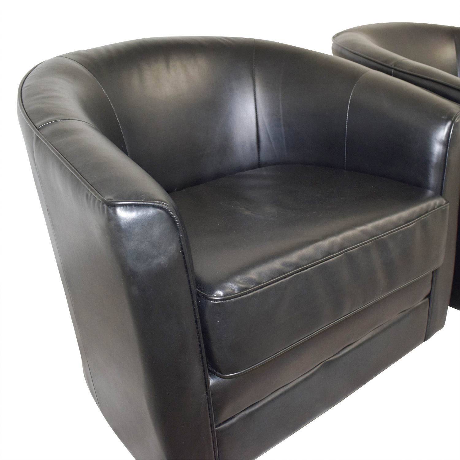85 Off Bob S Furniture Bob S Furniture Black Leather