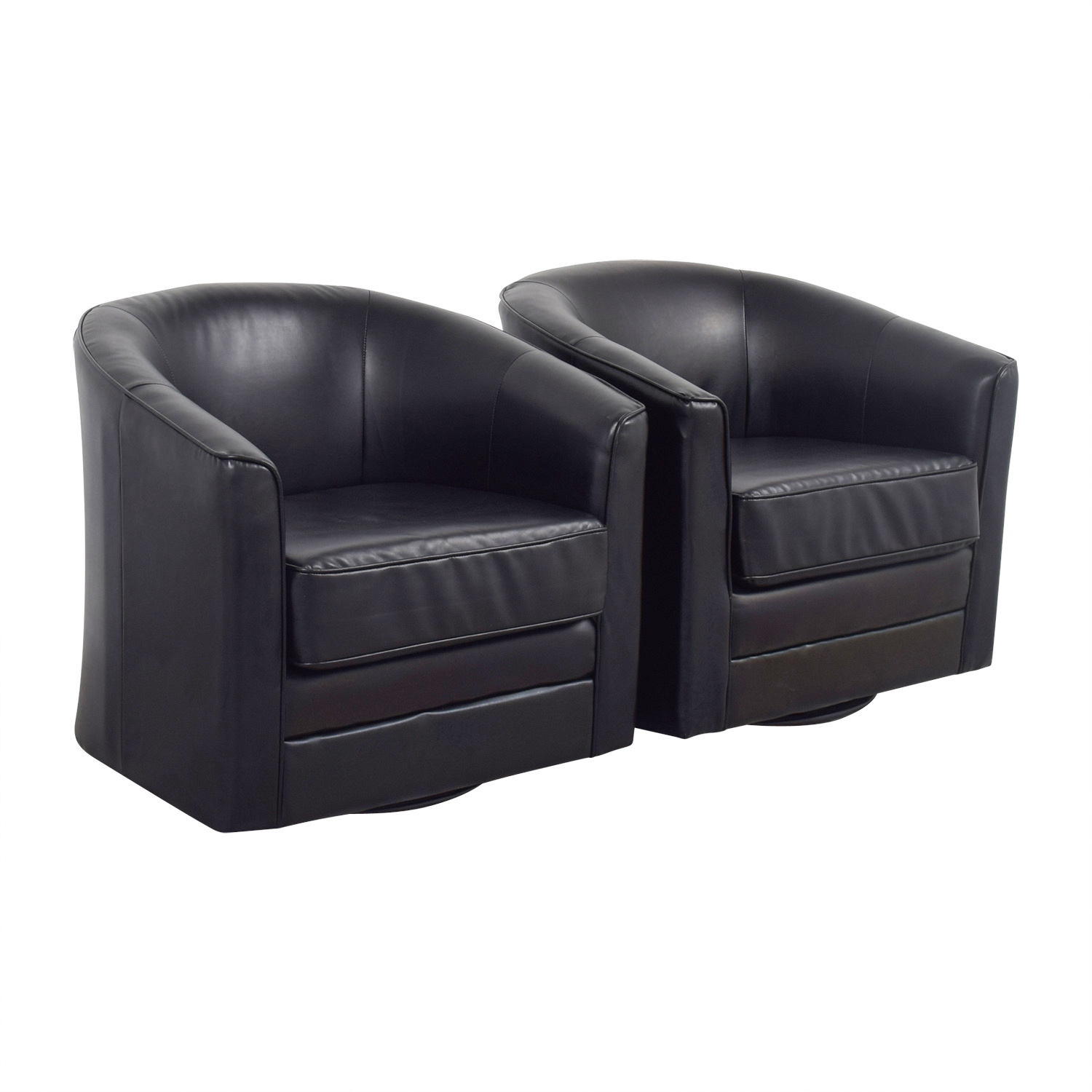 Prime 85 Off Bobs Discount Furniture Bobs Furniture Black Leather Arm Accent Chairs Chairs Machost Co Dining Chair Design Ideas Machostcouk