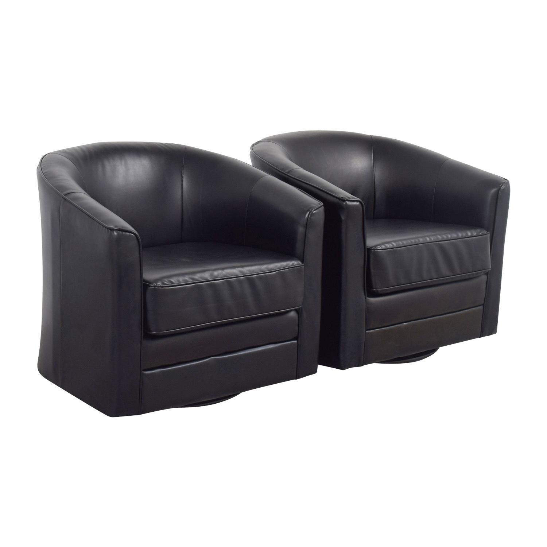85 Off Bob S Furniture Bob S Furniture Black Leather