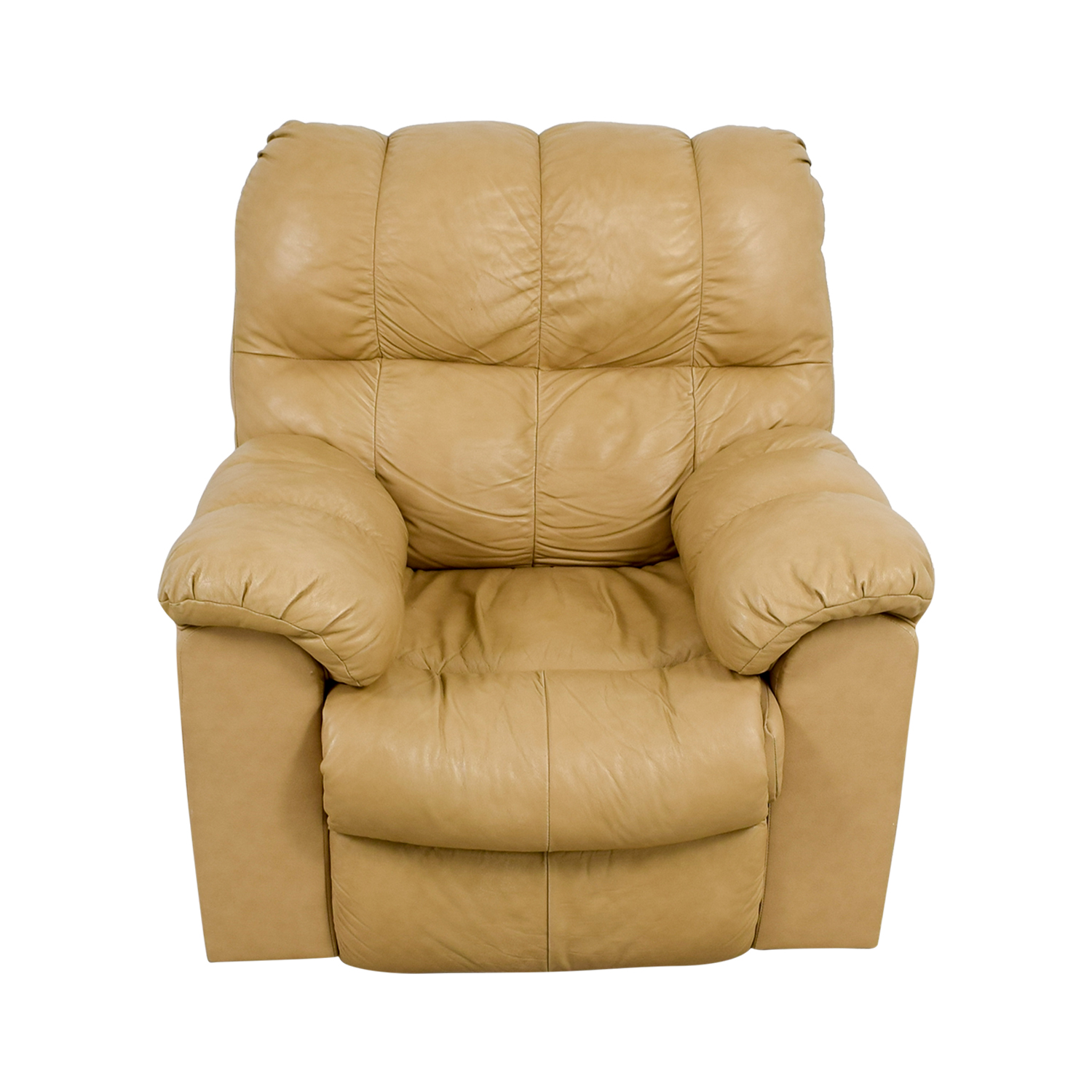 80 Off Ashley Furniture Ashley Furniture Tan Leather Recliner Chairs