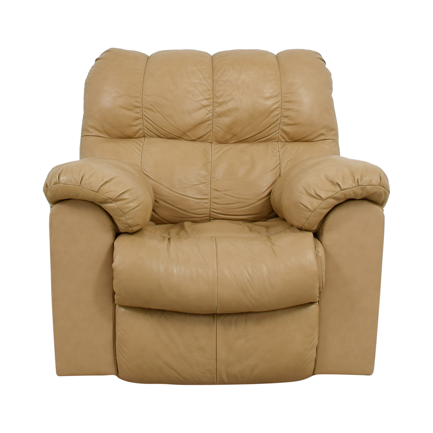 90 Off Ashley Furniture Ashley Furniture Tan Leather Recliner