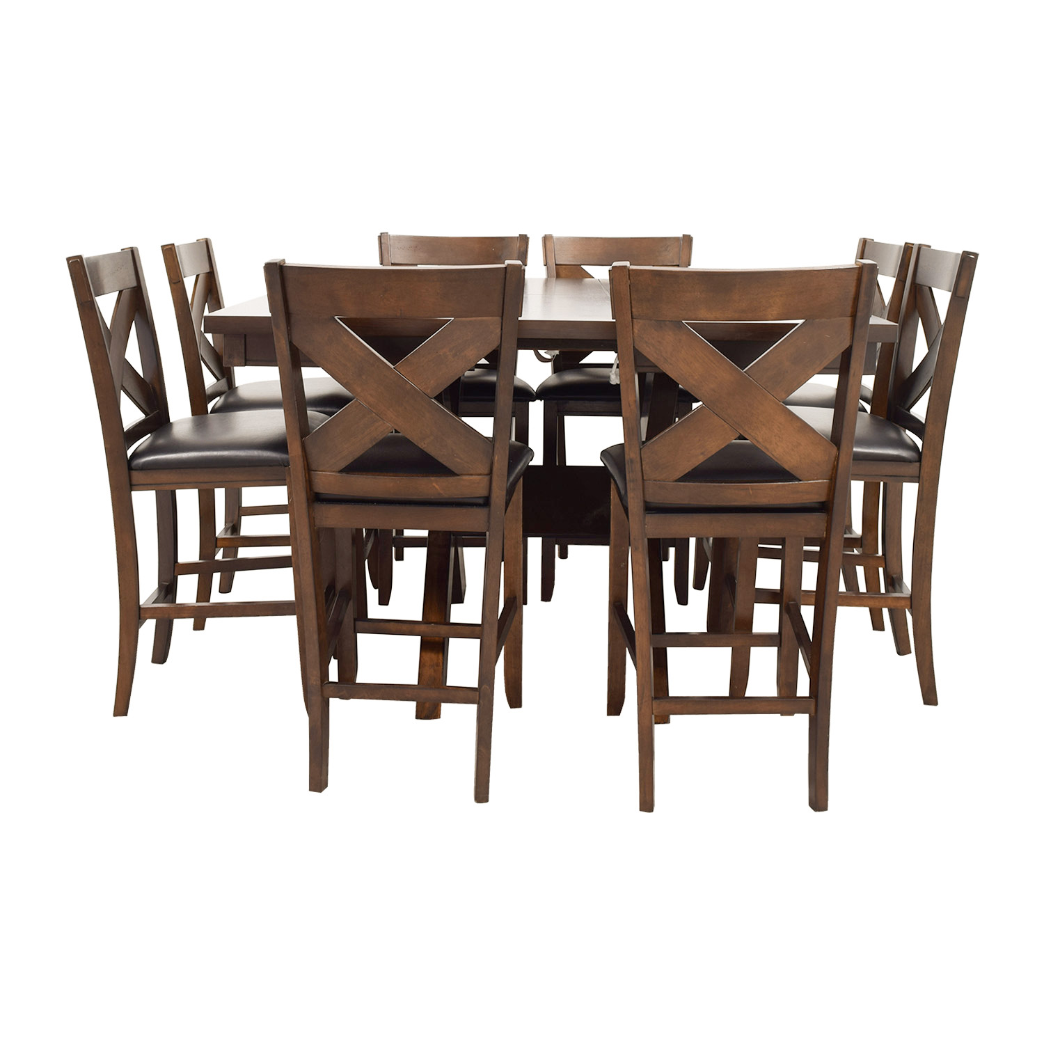 Bobs Furniture Bobs Furniture X Factor Counter Dining Set for sale