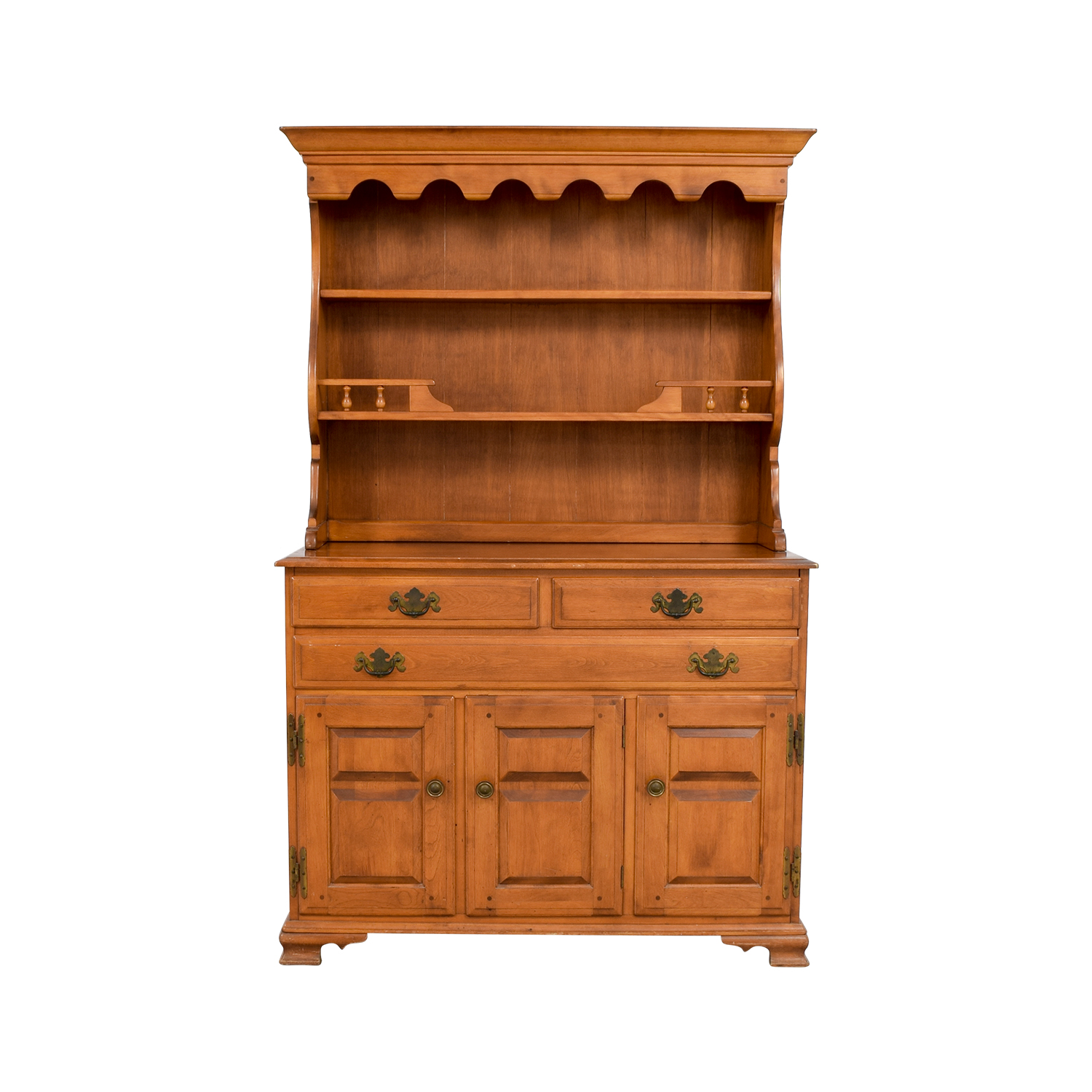 buy Temple Stuart Vintage American Provincial Maple Hutch Temple Stuart Tables
