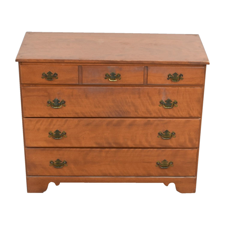 Ethan Allen Ethan Allen Baumritter Nutmeg Maple Low Dresser Beech