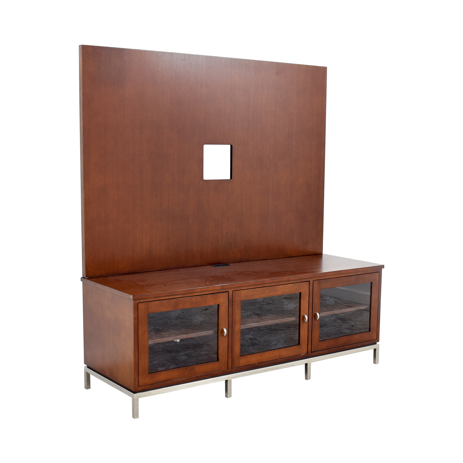 Ethan Allen Entertainment Center Media Units
