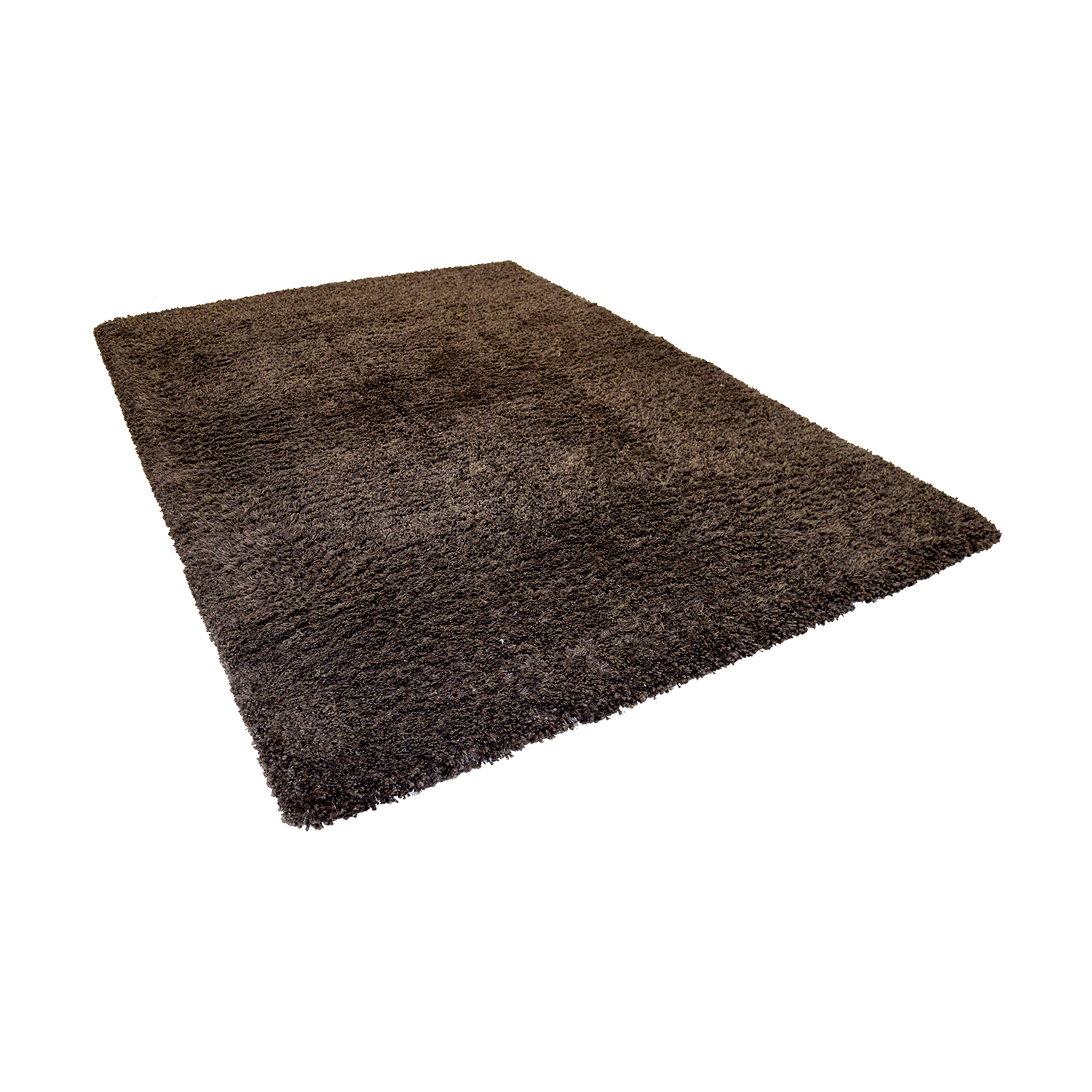 buy Crate & Barrel Brown Shag Rug Crate & Barrel Rugs