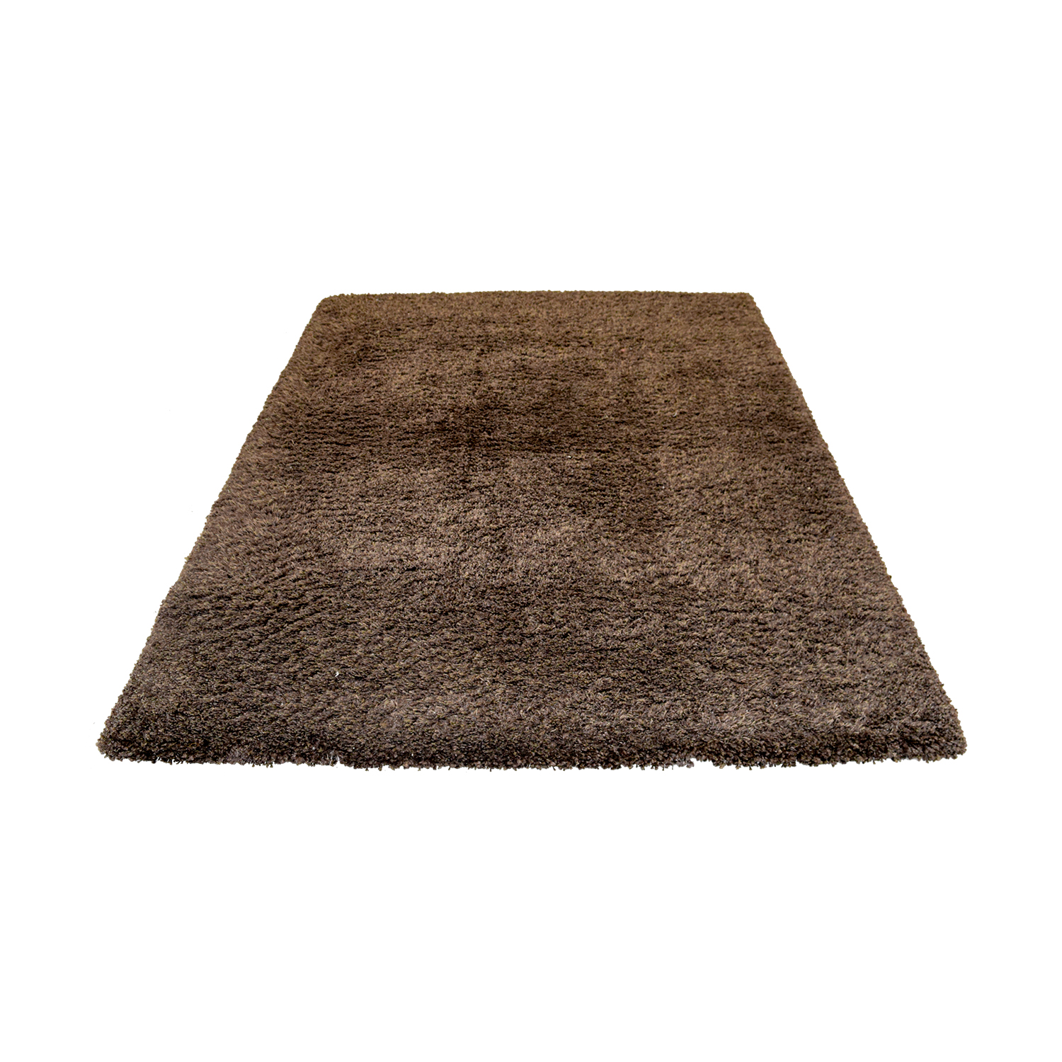 Crate & Barrel Crate & Barrel Brown Shag Rug coupon