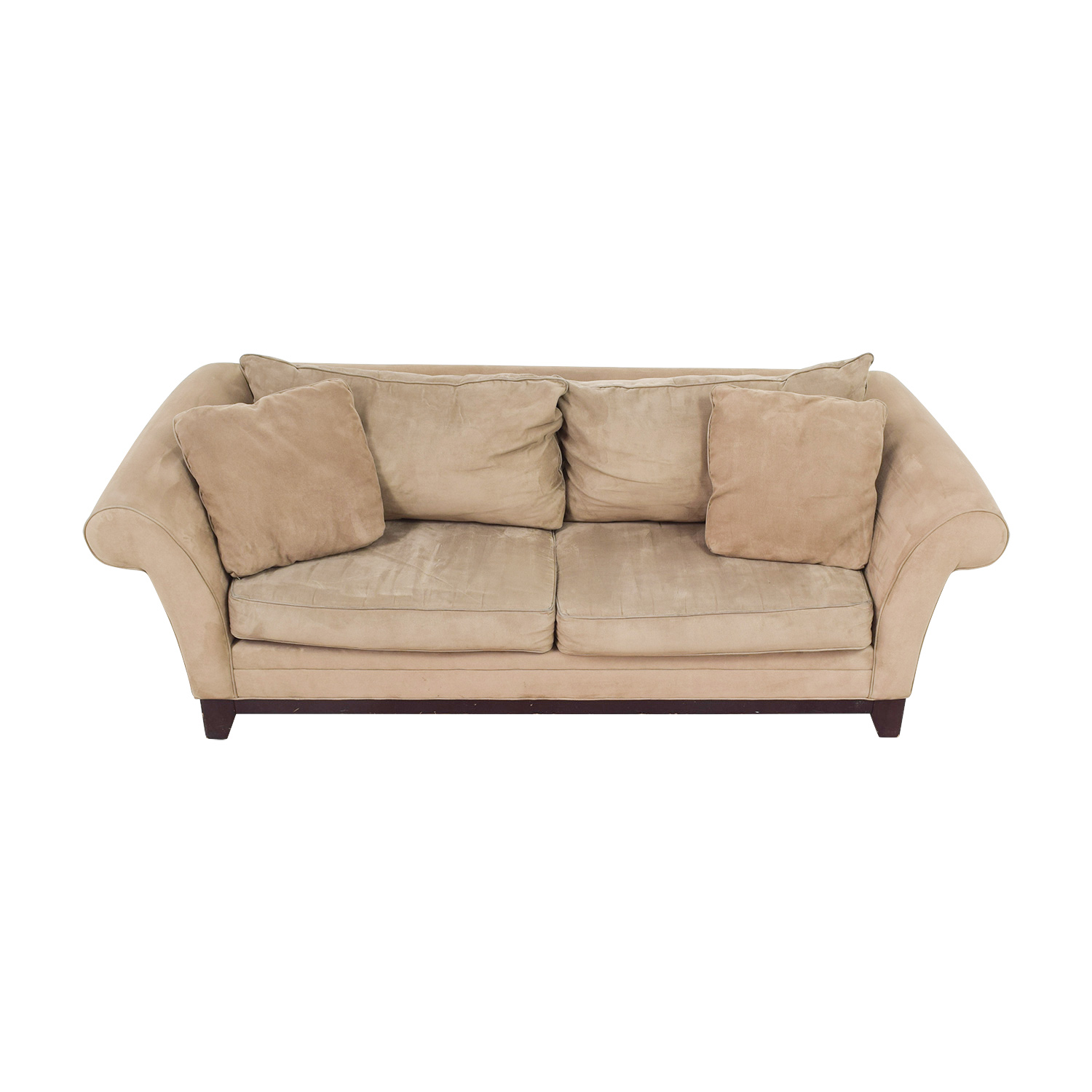 Kreiss Sofa Rolled Arm Giverny Chaise Sofa By Kreiss