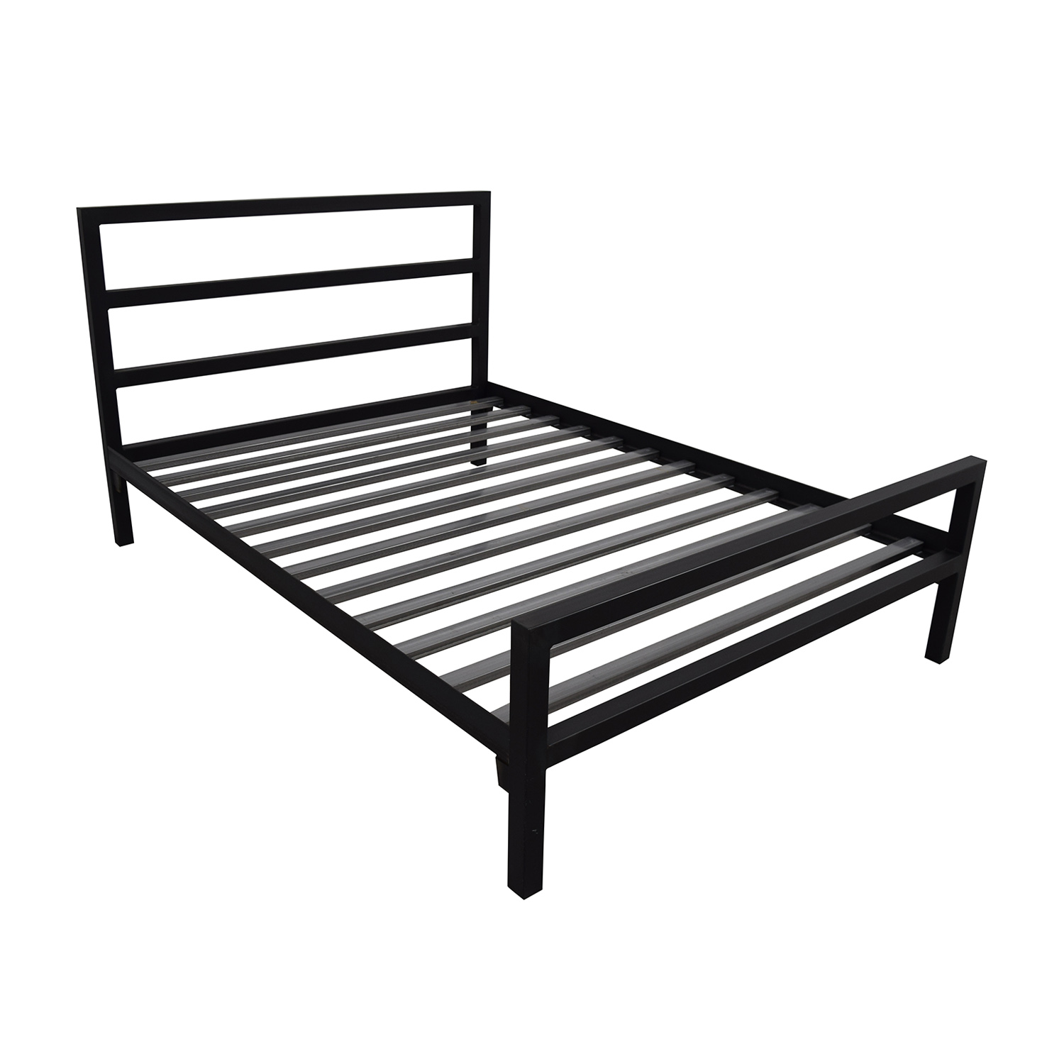 Room & Board Parsons Steel Queen Bed Frame / Bed Frames