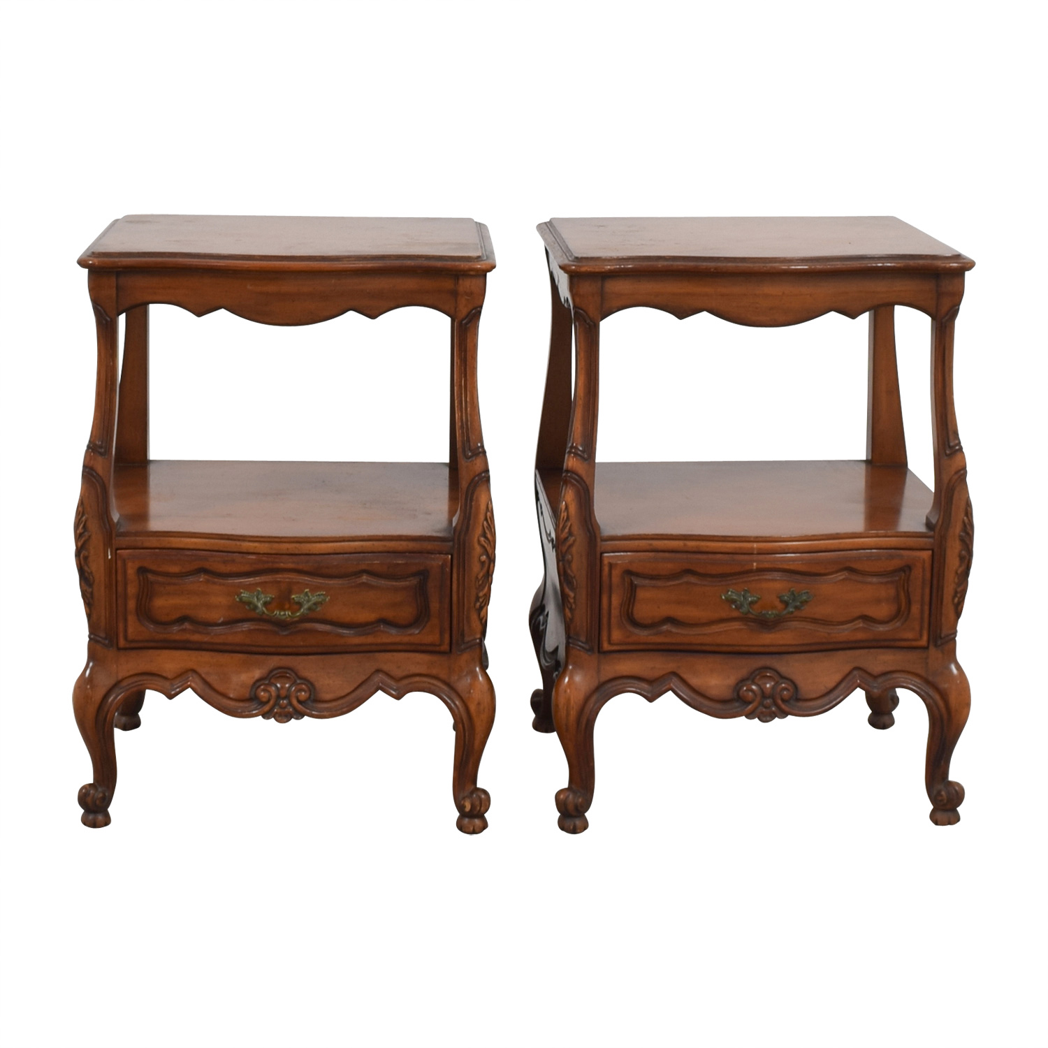 shop Wood Carved Night Stands Tables