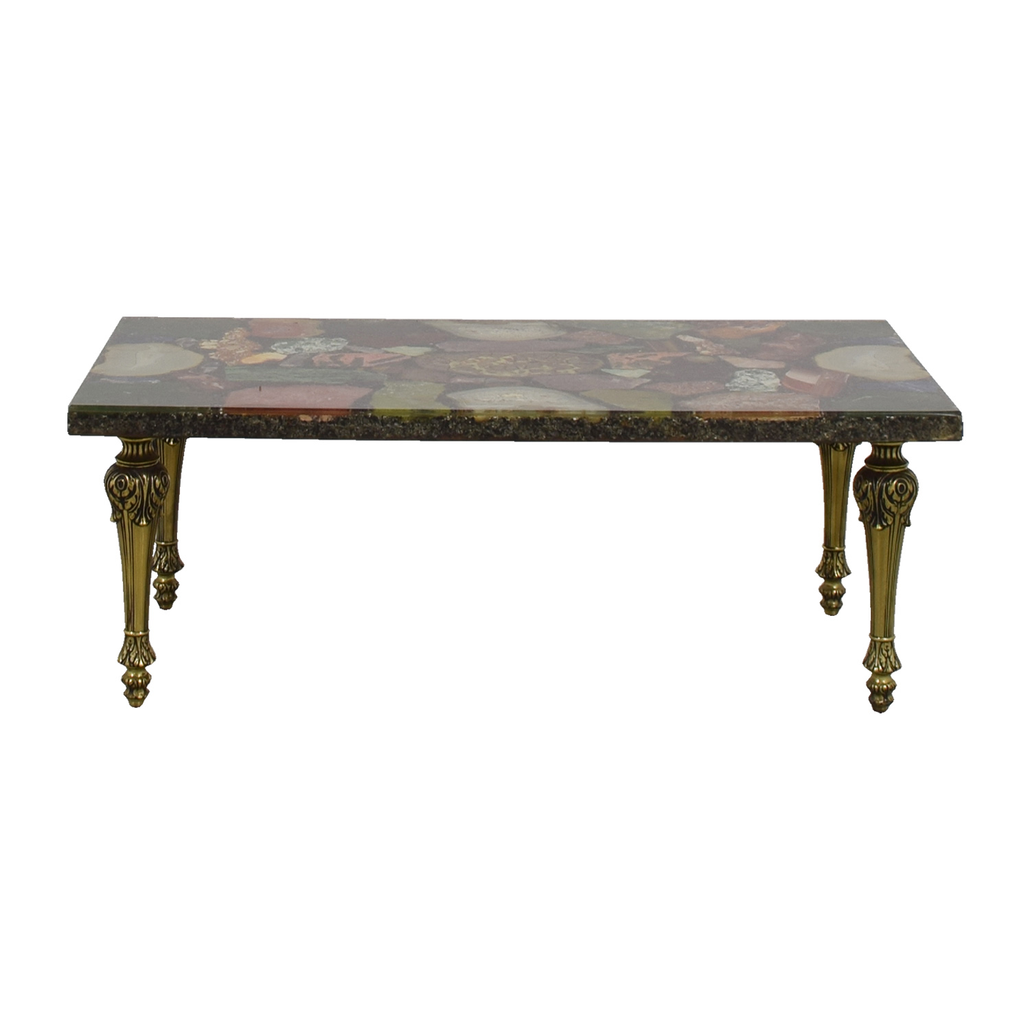 Assorted Gem Stone Coffee Table / Tables