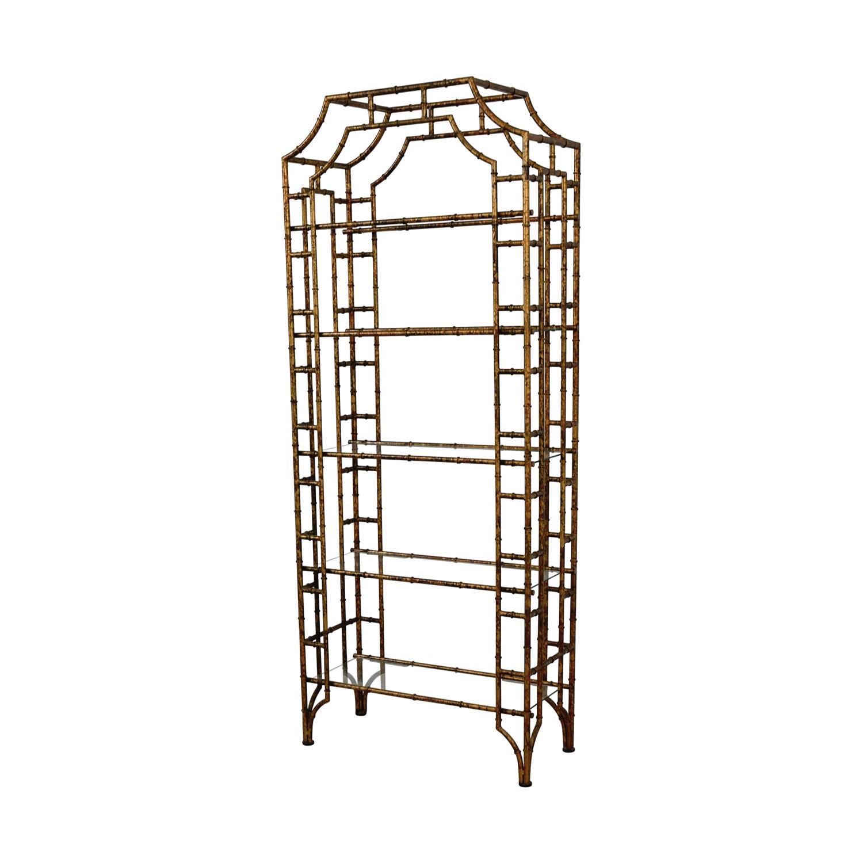... Etegere Glass Bookshelf / Bookcases & Shelving ...