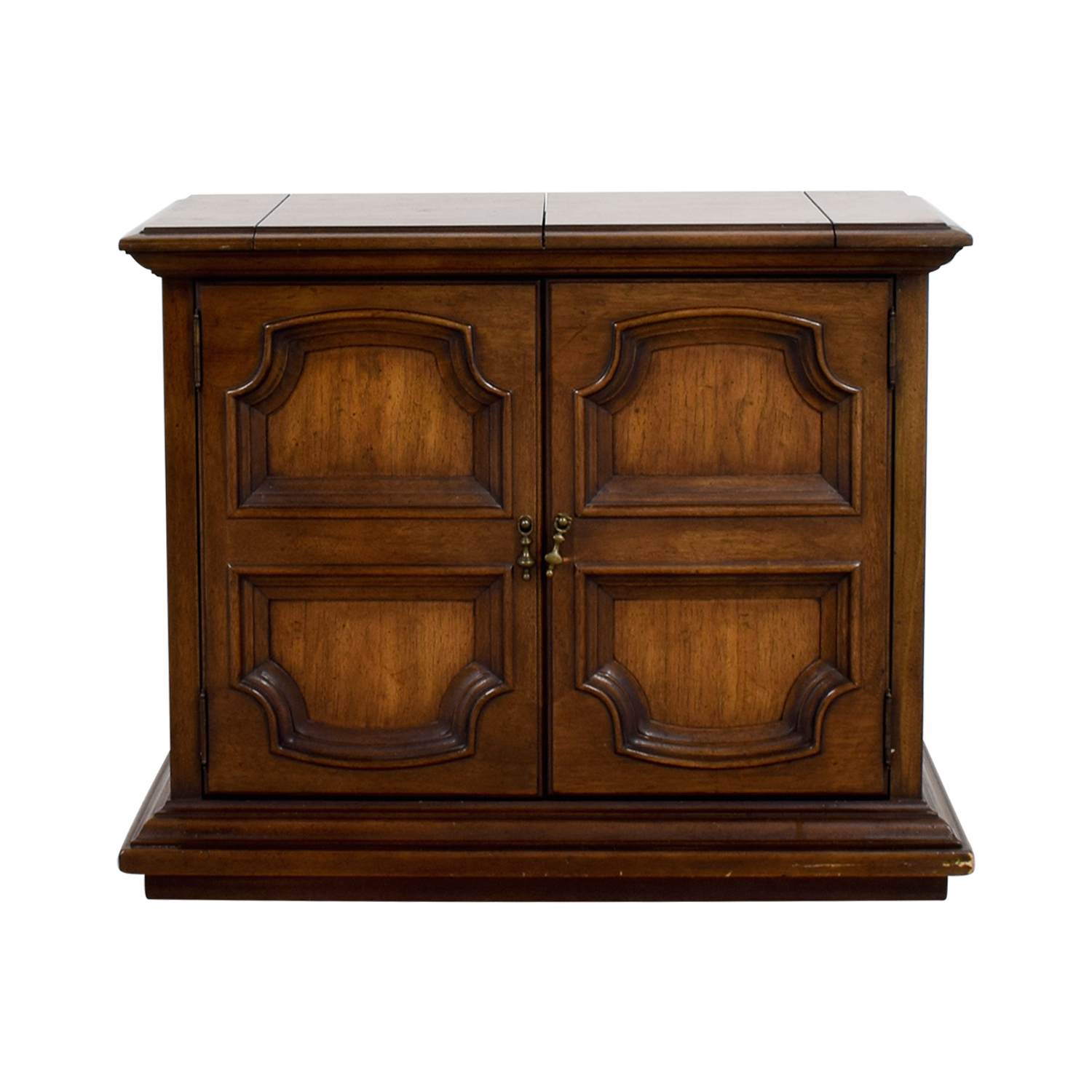 shop Wood Carved Sideboard with Storage