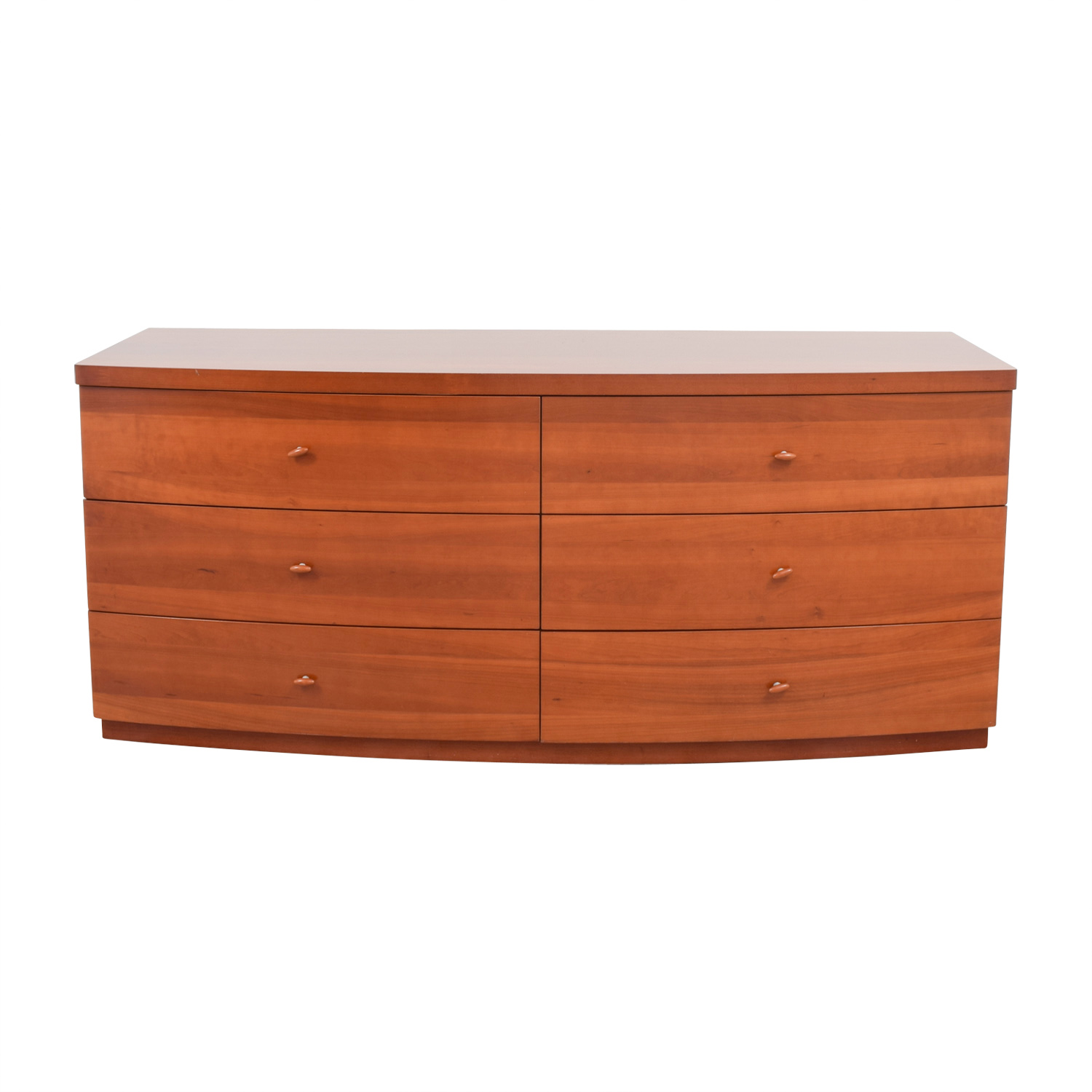 Italian Curved Six-Drawer Double Dresser on sale