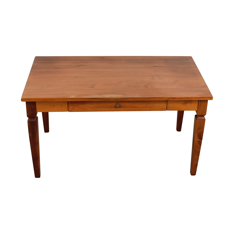 shop Crate & Barrel Desk with Keyboard Pull Out Drawer Crate & Barrel Home Office Desks
