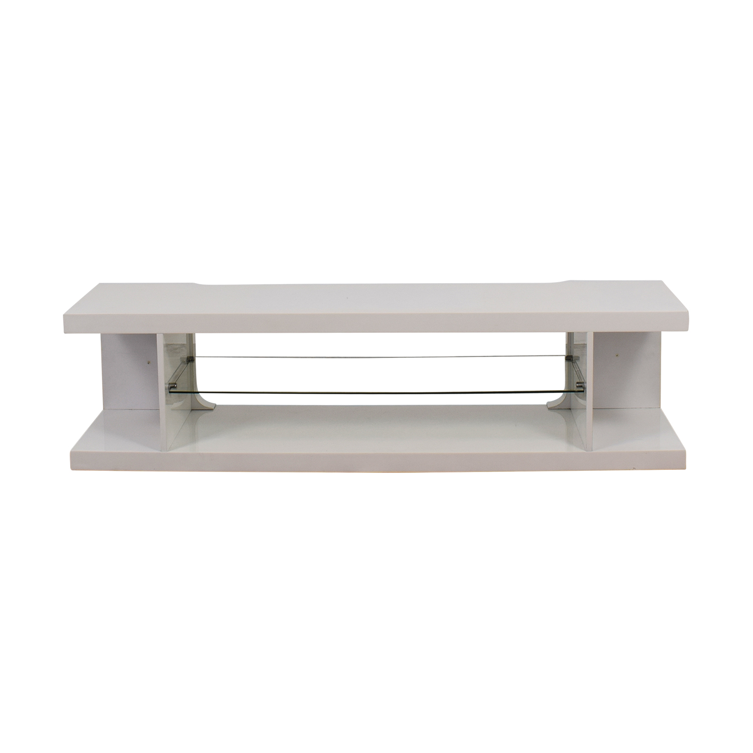 shop White Modern TV Stand Media Units