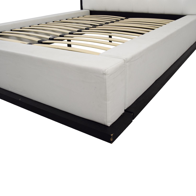 Modloft at Gilt Modloft at Gilt Ludlow Queen Bed Frame dimensions