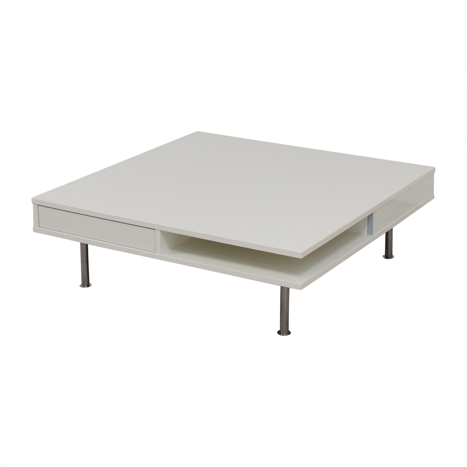 67 off white modern coffee table tables for Buy modern coffee table