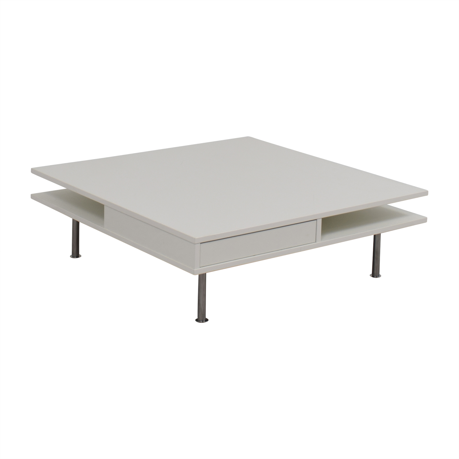 67 Off White Modern Coffee Table Tables
