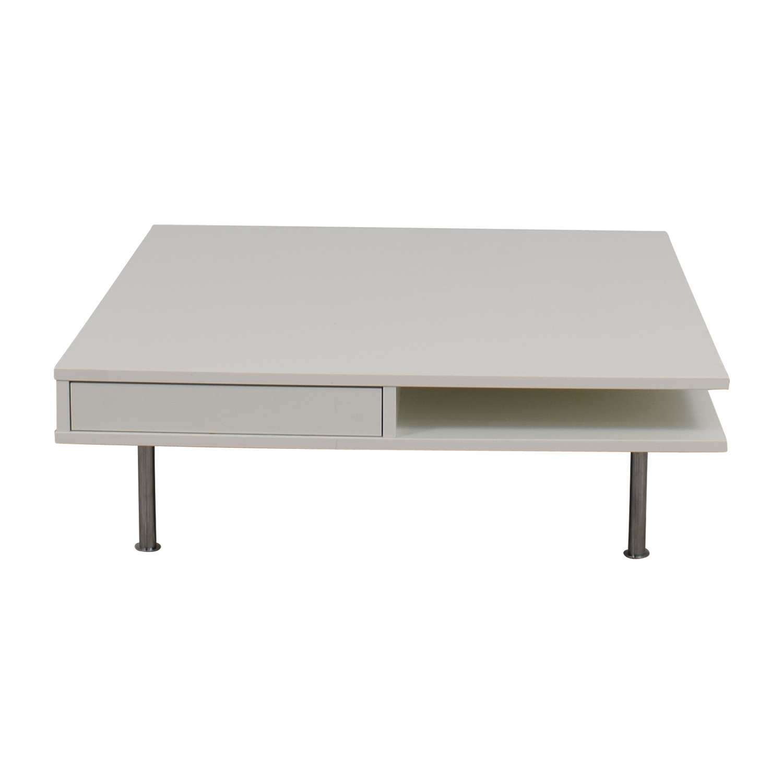buy White Modern Coffee Table online