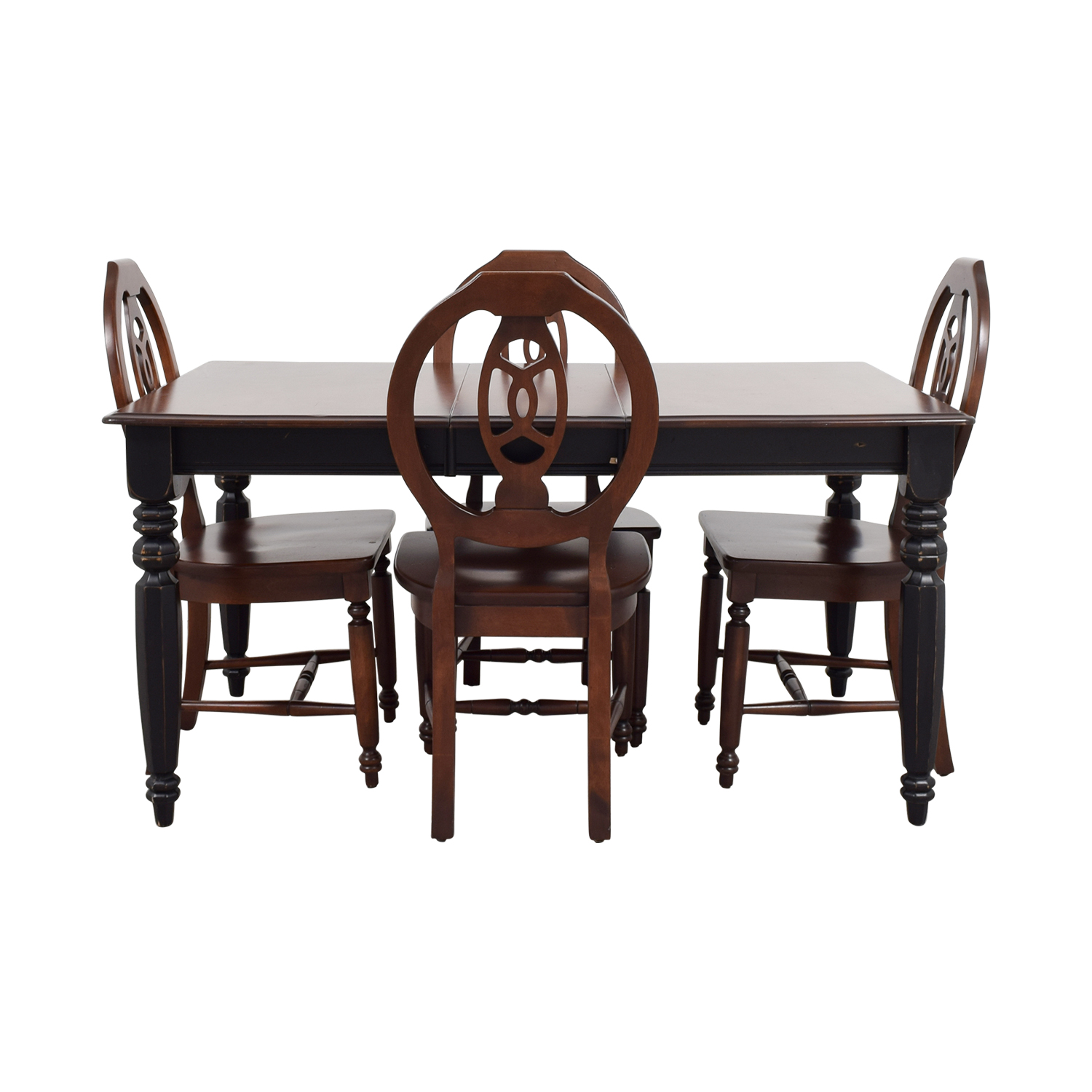 shop Classic Wooden Extendable Dining Set Dining Sets