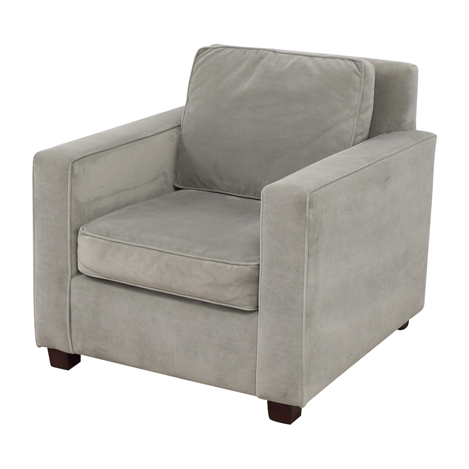 West Elm West Elm Grey Armchair