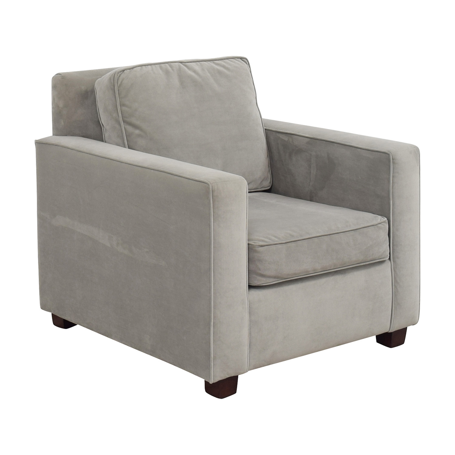West Elm West Elm Grey Armchair on sale