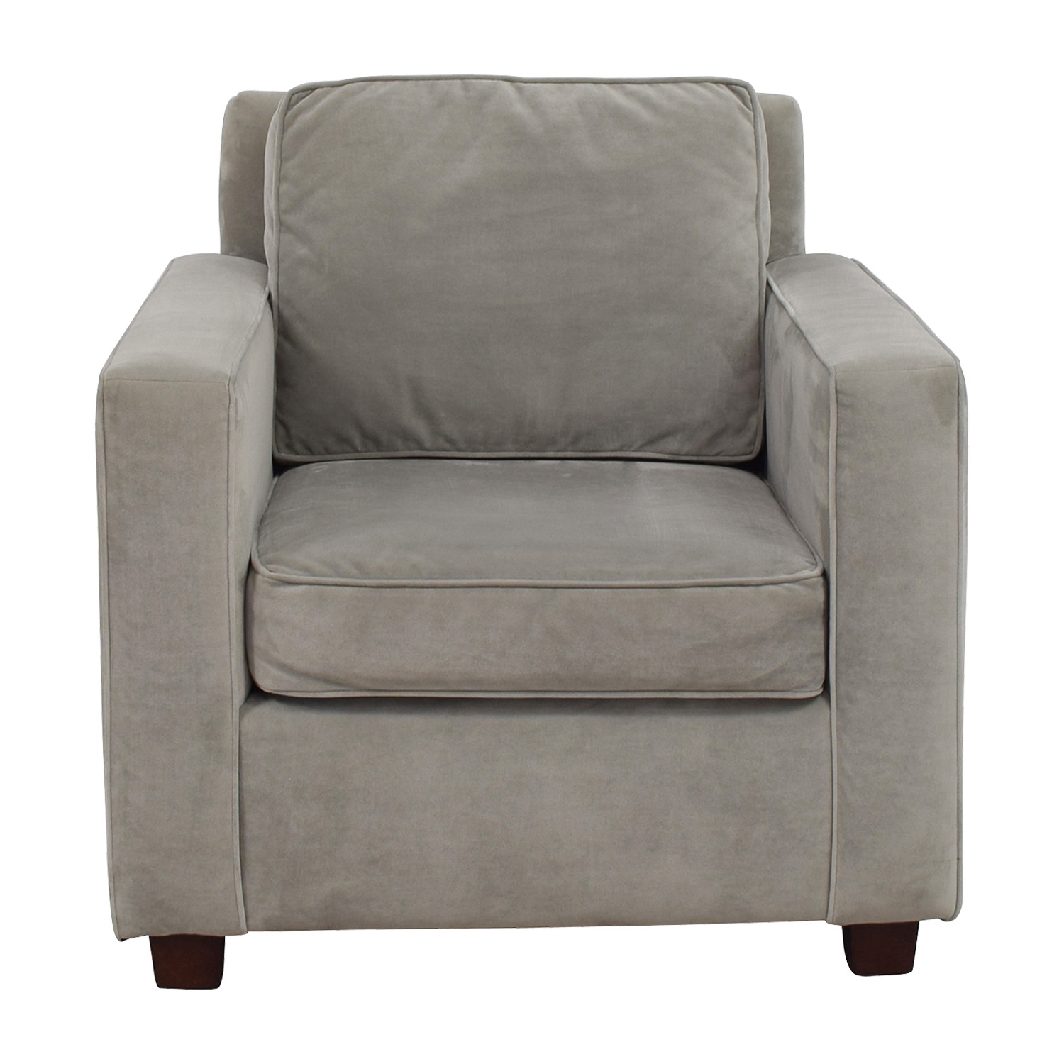 West Elm West Elm Grey Armchair second hand