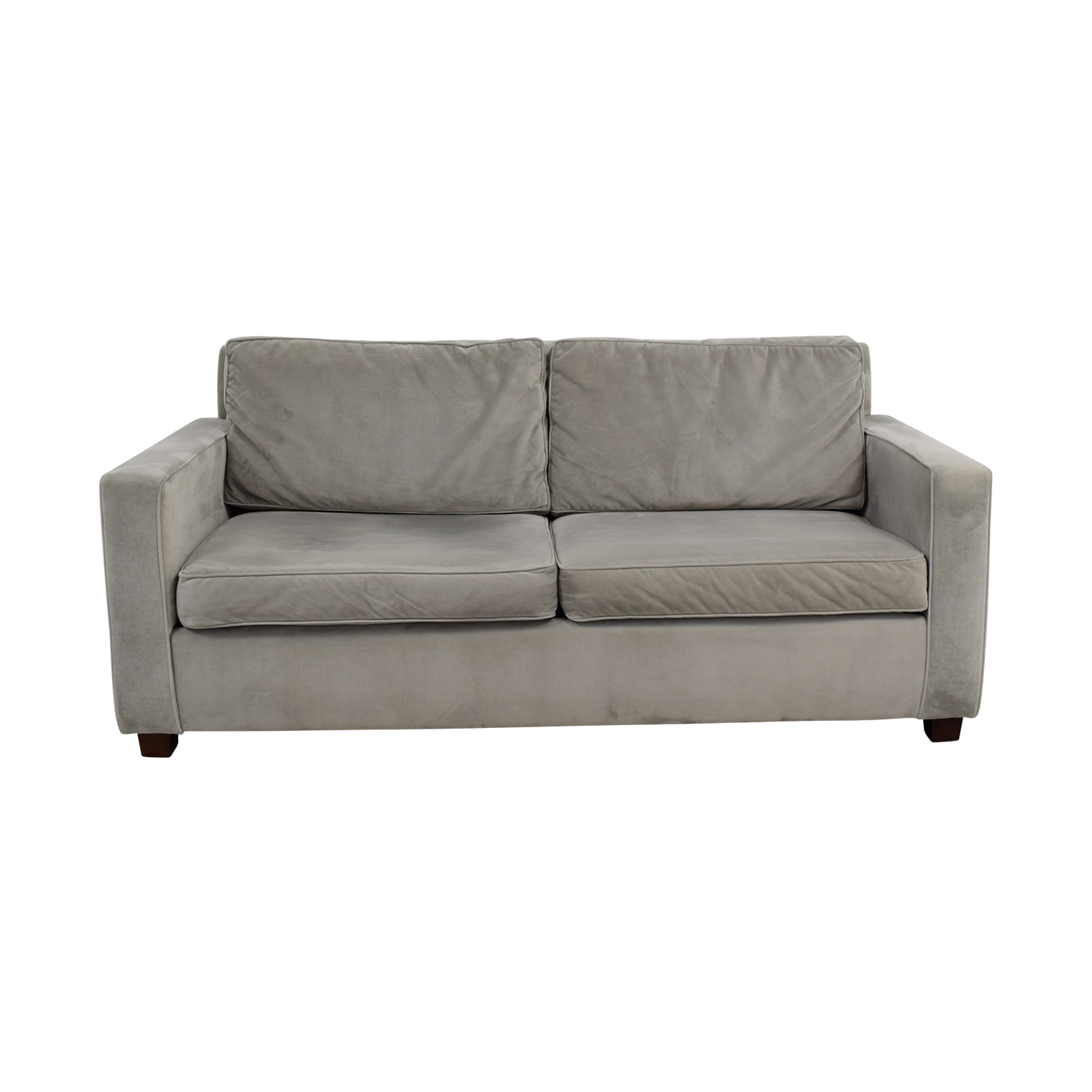 buy West Elm West Elm Grey Henry Two-Cushion Sofa online