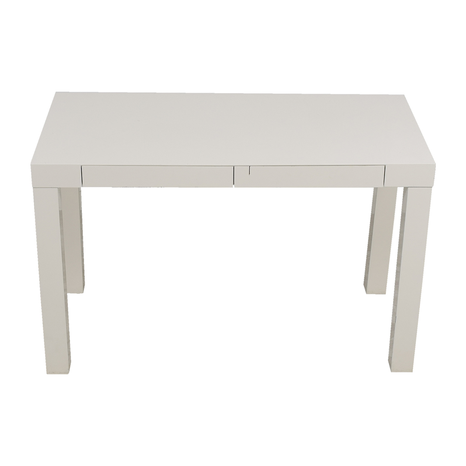 West Elm West Elm White Desk dimensions