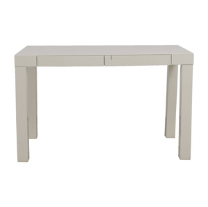 West Elm West Elm White Desk on sale