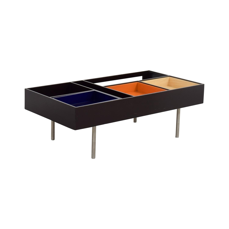 77 Off Metropolitan Design Center Metropolitan Design Center Multi Colored Coffee Table Tables