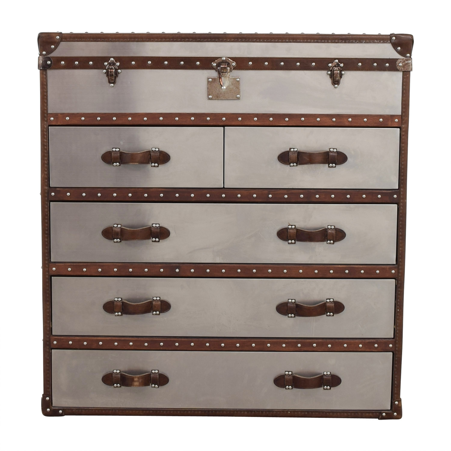 Restoration Hardware Restoration Hardware Mayfair Steamer Chest on sale