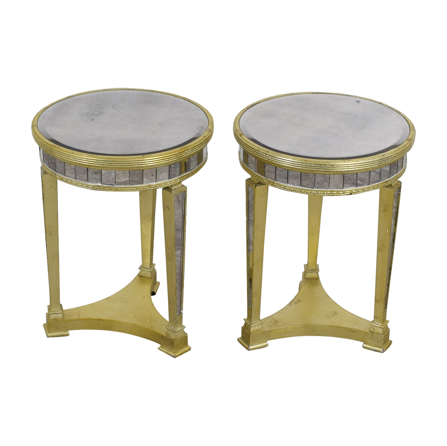 Z Galleries Z Galleries Borghese Mirrored Side Tables on sale