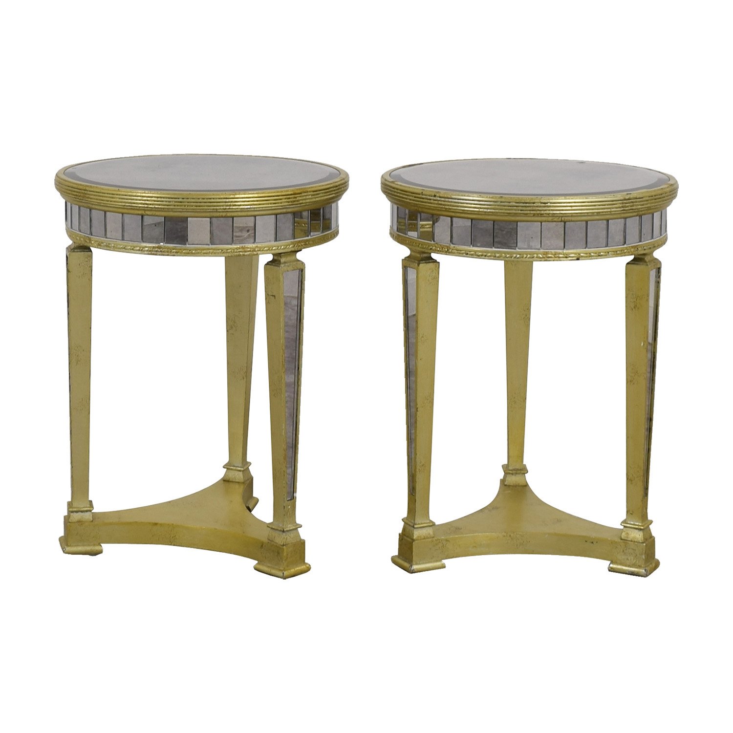 Z Galleries Borghese Mirrored Side Tables sale