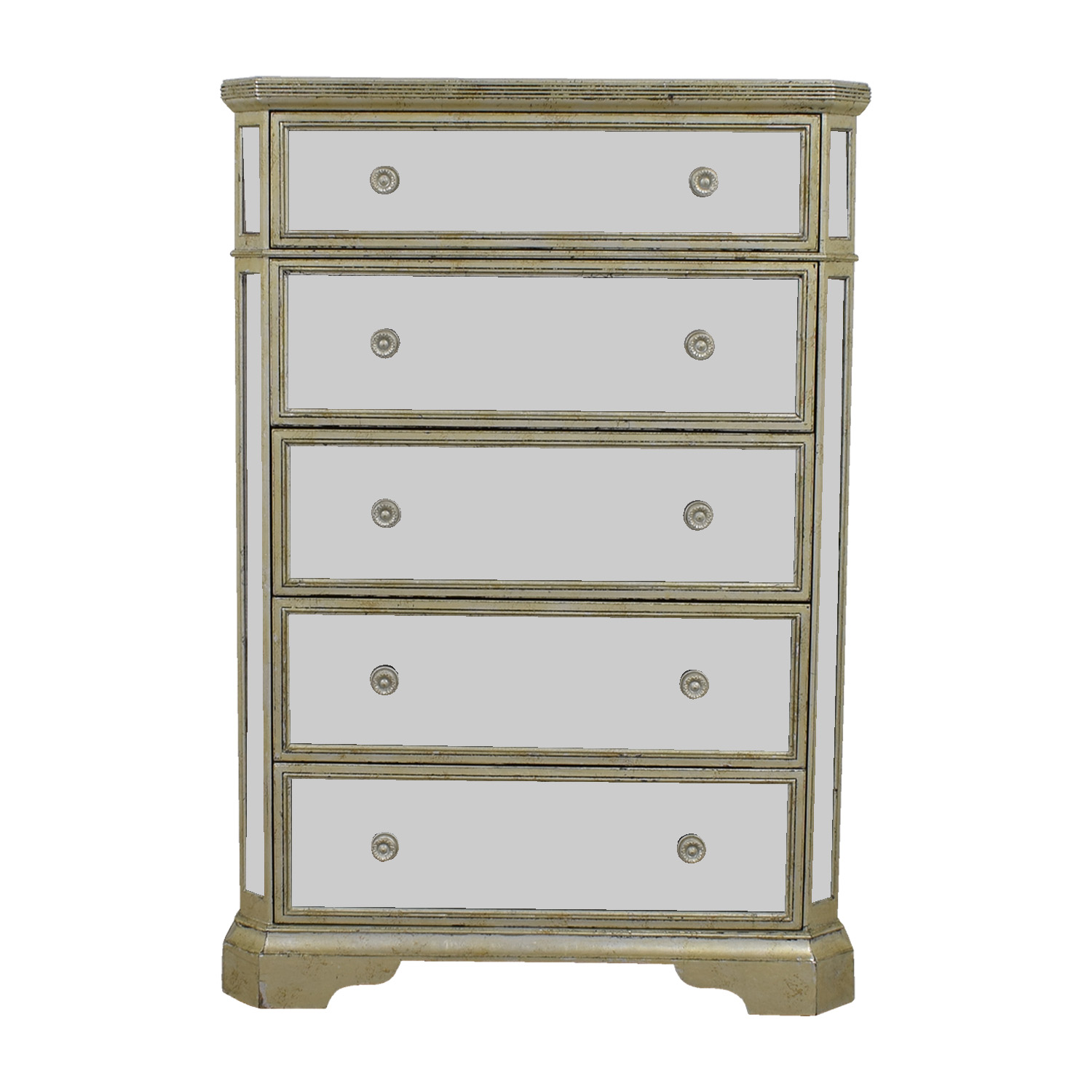 Z Galleries Z Galleries Borghese Five-Drawer Mirrored Chest