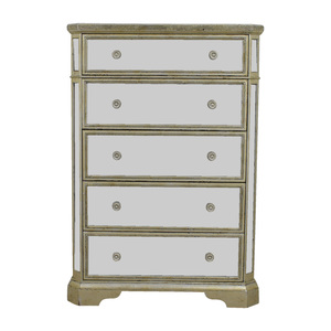 Z Gallerie Z Galleries Borghese Five-Drawer Mirrored Chest coupon