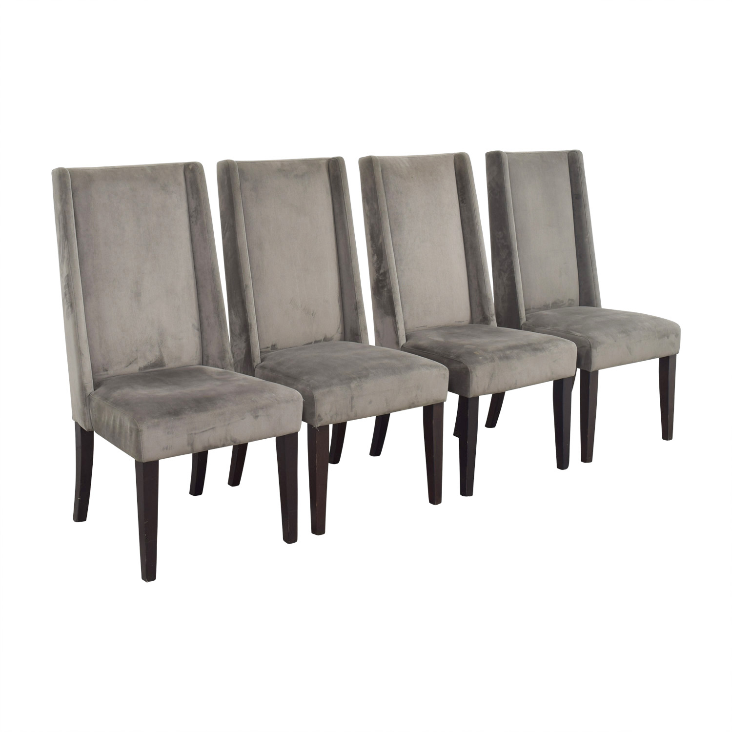 West Elm West Elm Velvet Dining Chairs / Chairs