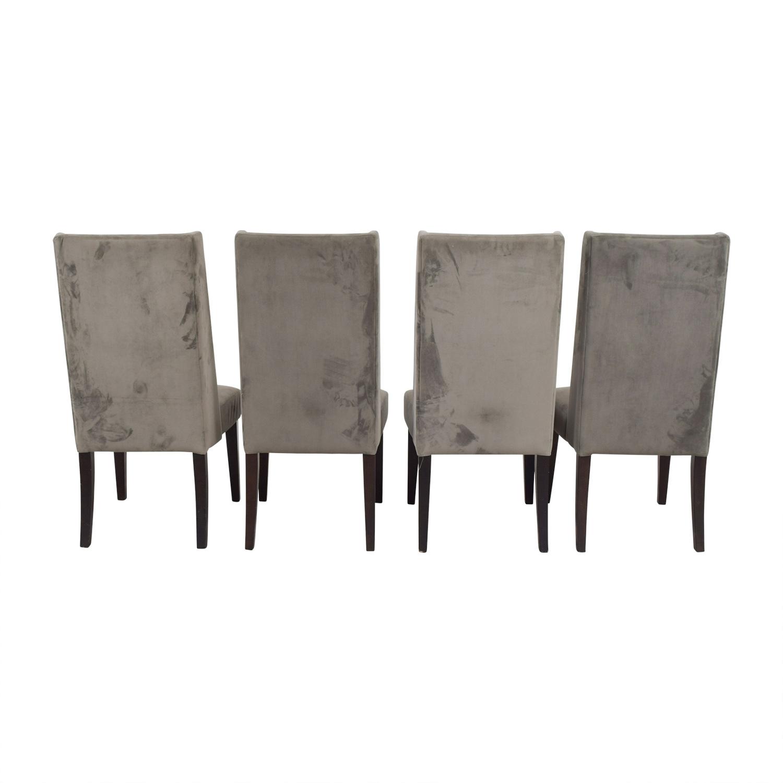 West Elm West Elm Velvet Dining Chairs dimensions