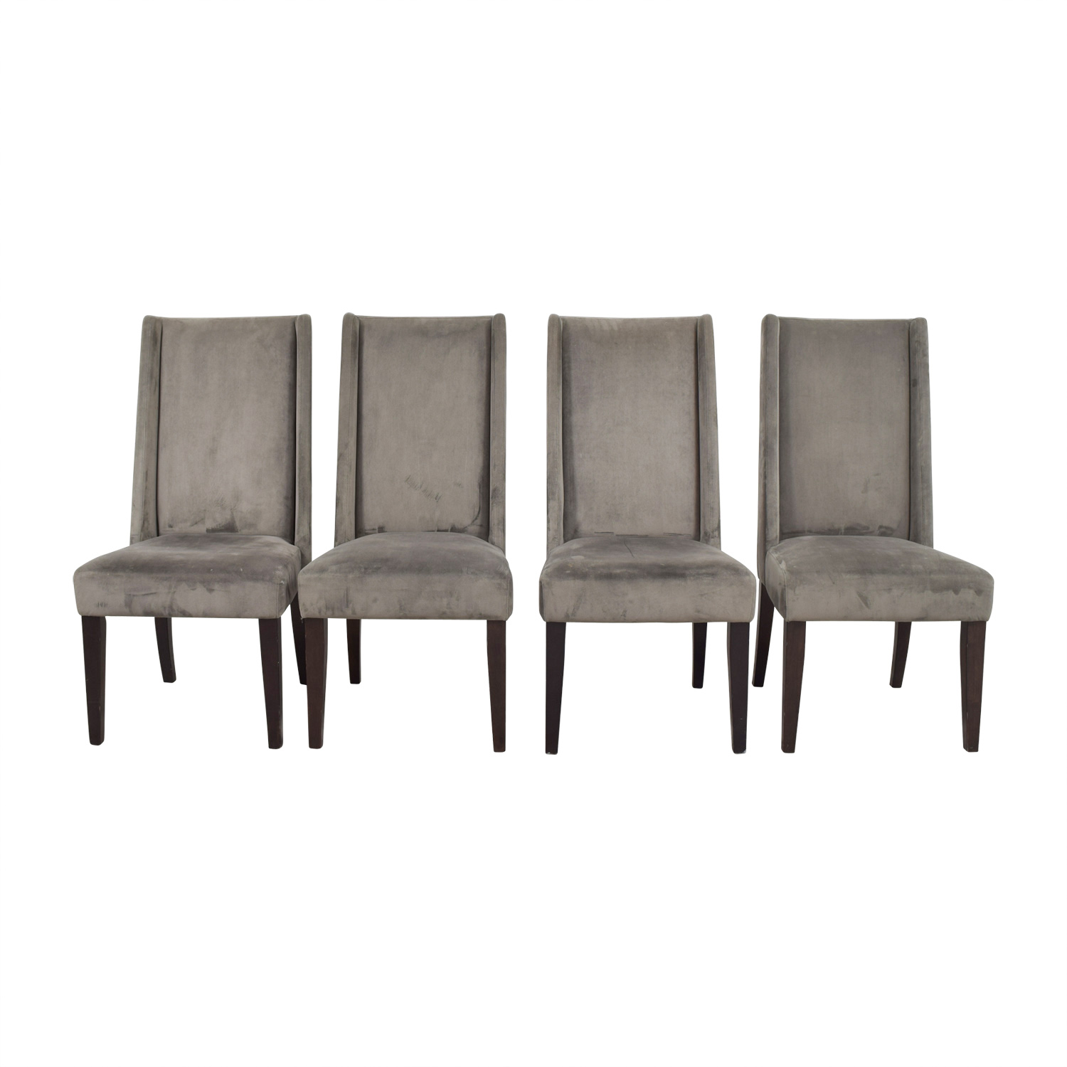 West Elm Velvet Dining Chairs / Dining Chairs