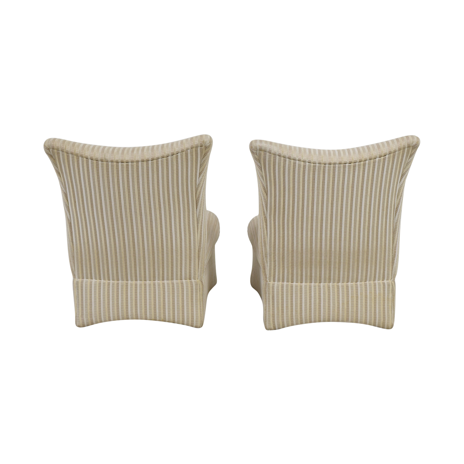Ethan Allen Ethan Allen Striped Accent Chairs nyc