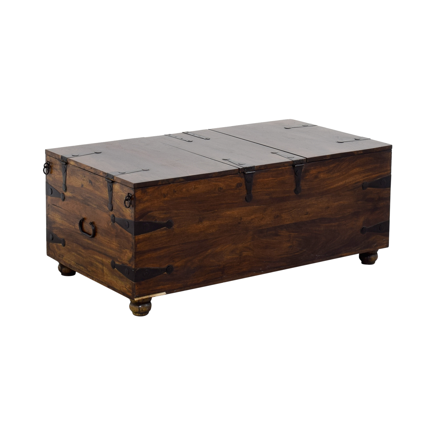 ... Shop Crate U0026 Barrel Trunk Coffee Table Crate U0026 Barrel ...