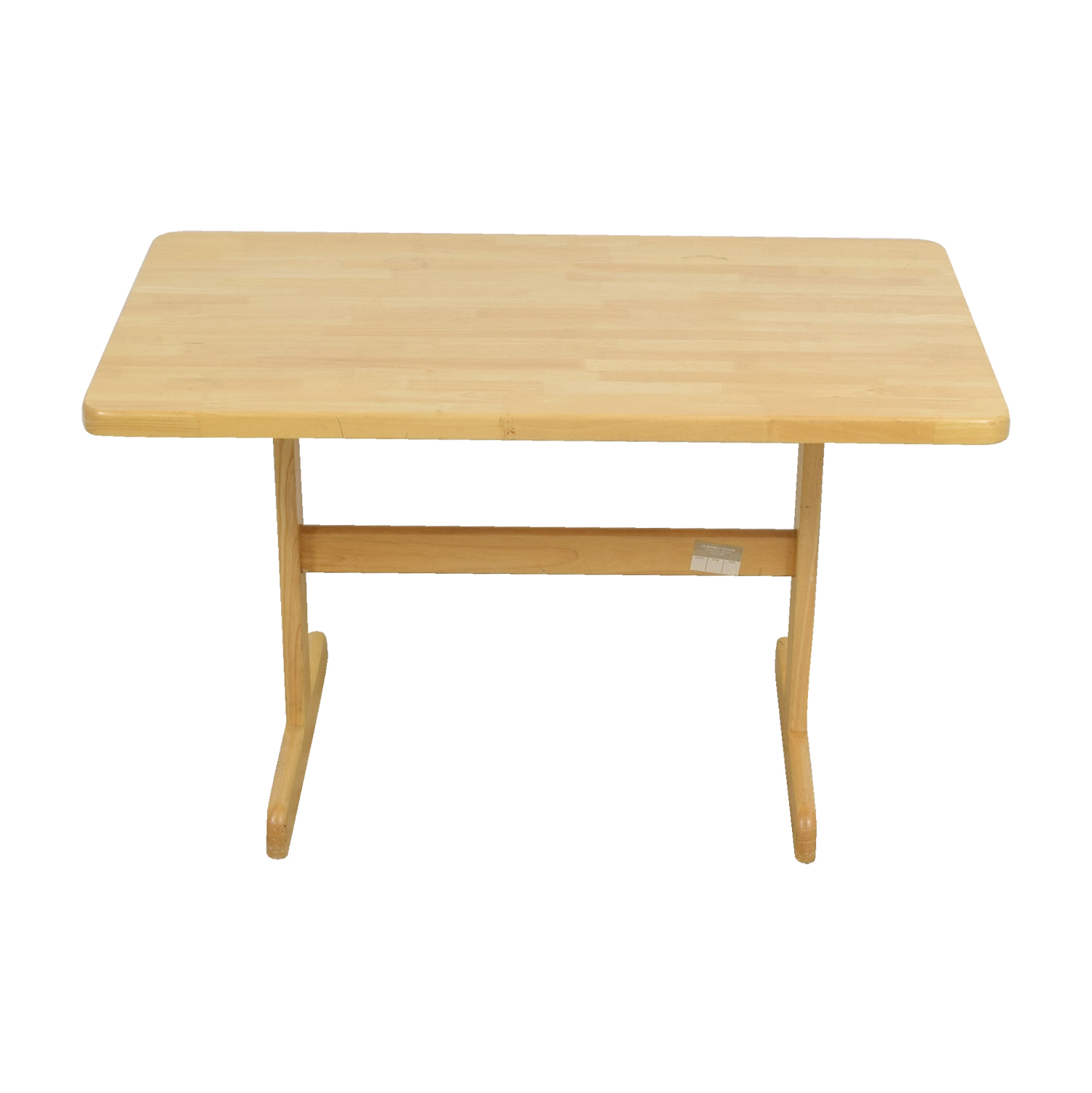 Cost Plus Cost Plus Butcher Block Dining Table Tables