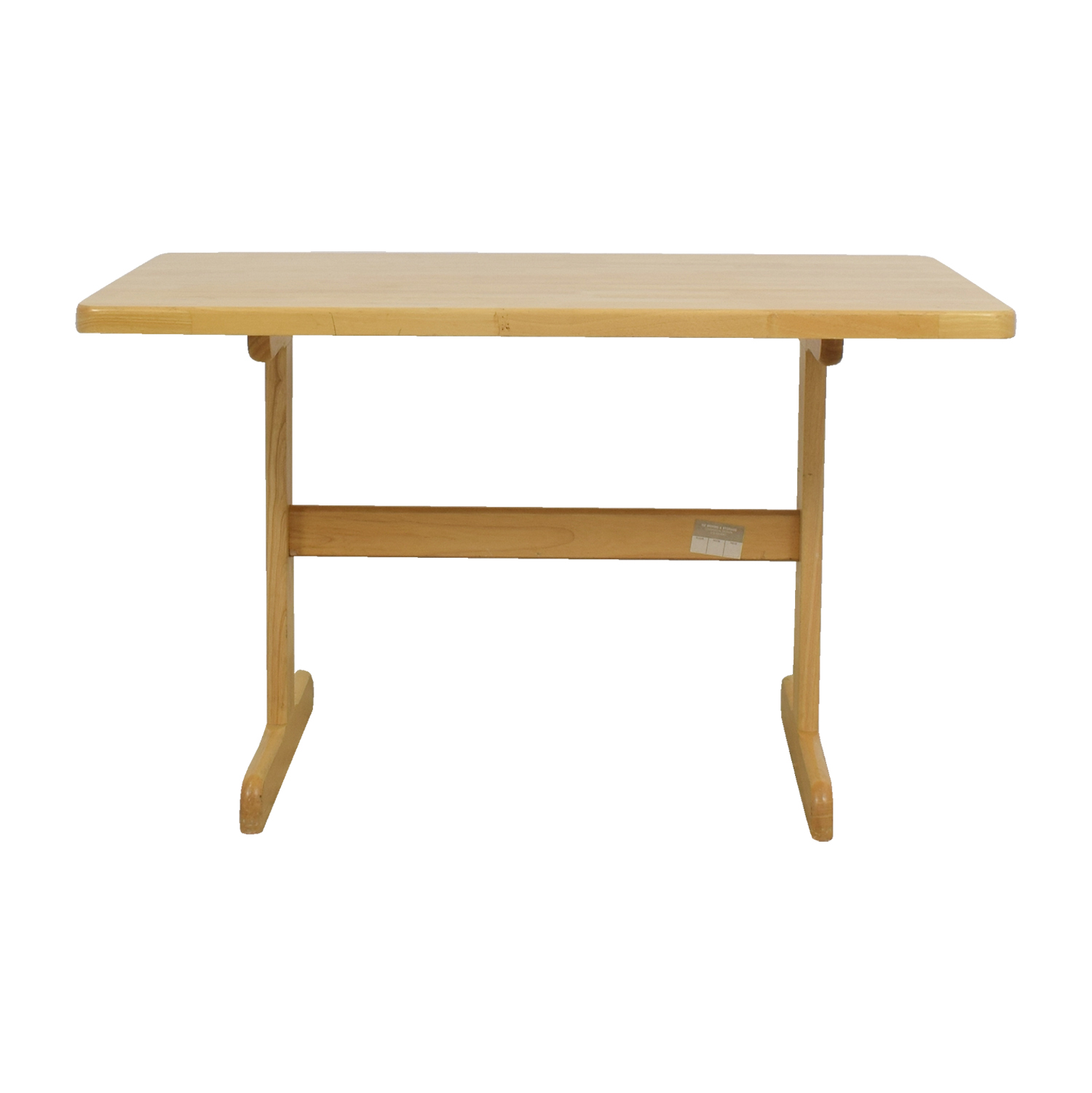 butcher block dining table. Cost Plus Butcher Block Dining Table / Tables